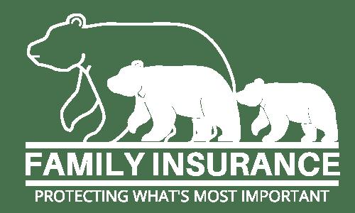 Family Insurance LLC Logo in white